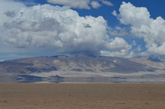 Antofagasta de la Toppig bergskedja Arkivbilder