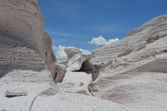 Antofagasta de la Toppig bergskedja Royaltyfria Foton