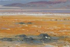 Antofagasta de la Toppig bergskedja Royaltyfri Bild