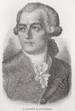 antoine de mer lavoisier laurent vektor illustrationer