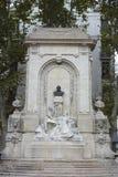 Antoine Gailleton monument i Lyon, Frankrike Royaltyfria Bilder