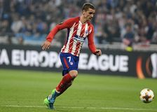 Antoine Griezmann scores Royalty Free Stock Photography