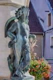 Antoine Perrenot de Granvelle Statue in Ornans royalty-vrije stock afbeeldingen