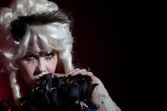 Antoinette ως ντυμένη marie γυναίκα Στοκ φωτογραφίες με δικαίωμα ελεύθερης χρήσης