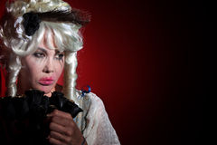 Antoinette ως ντυμένη marie γυναίκα Στοκ φωτογραφία με δικαίωμα ελεύθερης χρήσης