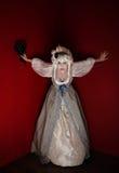 Antoinette ως ντυμένη marie γυναίκα Στοκ εικόνα με δικαίωμα ελεύθερης χρήσης