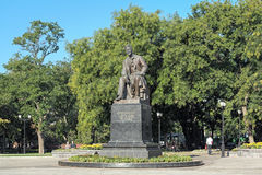 Anton Chekhov Monument in Taganrog, Russia. Anton Chekhov Monument on the Chekhov Square of Taganrog, Russia Stock Images