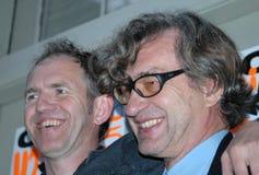 Anton Corbijn, Wim Wenders Stock Afbeelding