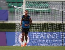 Anton Ferdinand of Reading FC Stock Images