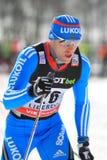 Anton Gafarov - διαγώνια χώρα Στοκ Εικόνα