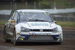 Anton MARKLUND Κόσμος Rallycross FIA της Βαρκελώνης Στοκ Φωτογραφίες