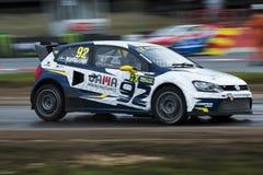 Anton MARKLUND Κόσμος Rallycross FIA της Βαρκελώνης Στοκ Εικόνες
