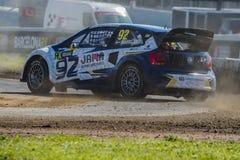 Anton MARKLUND Κόσμος Rallycross FIA της Βαρκελώνης Στοκ Εικόνα