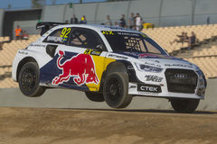Anton MARKLUND Audi S1 Barcelona FIA World Foto de Stock Royalty Free