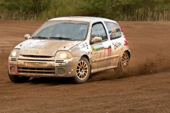Anton Nabokoc drives a Renault Clio car Stock Photos