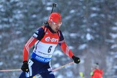 Anton Shipulin - biathlon Στοκ εικόνα με δικαίωμα ελεύθερης χρήσης