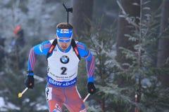 Anton Shipulin - biathlon Στοκ Εικόνες
