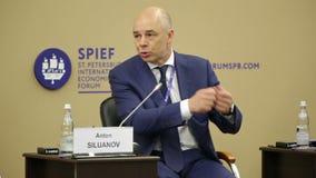 Anton Siluanov stock footage