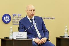 Anton Siluanov Στοκ Φωτογραφίες