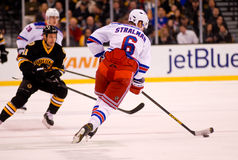Anton Stralman New York Rangers Royalty Free Stock Photos