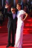 Anton Tabakov på Moskvafilmfestivalen Royaltyfri Fotografi