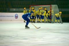 Anton Voronchihin 92 στη δράση Στοκ Εικόνες