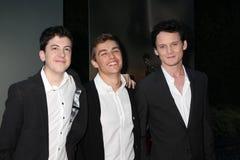 Anton Yelchin, Christopher Mintz,  Dave Franco Stock Image