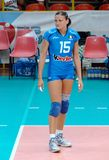 Antonella Del Core Italian volleyballteam Stock Afbeeldingen