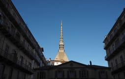 antonelliana gramocząsteczka Turin fotografia royalty free