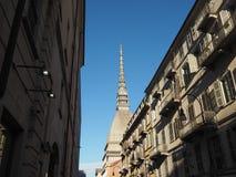 antonelliana gramocząsteczka Turin zdjęcie royalty free