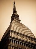 Antonelliana Turin de taupe Photos libres de droits