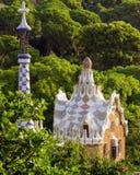 Antoni Gaudi στη Βαρκελώνη, Ισπανία. Στοκ εικόνα με δικαίωμα ελεύθερης χρήσης