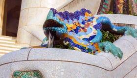 Antoni Gaudi στη Βαρκελώνη, Ισπανία. Στοκ φωτογραφία με δικαίωμα ελεύθερης χρήσης