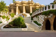 Antoni Gaudi στη Βαρκελώνη, Ισπανία. Στοκ φωτογραφίες με δικαίωμα ελεύθερης χρήσης