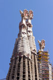 Antoni gaudi barcelona La Sagrada Familia Royalty Free Stock Photo