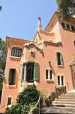 Antoni Gaudi house. Modernist architecture. Stock Images