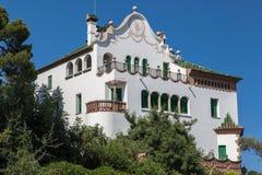 Antoni Gaudi Museum Guell Park Βαρκελώνη Στοκ Εικόνες