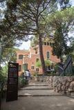 Antoni Gaudi Museum Guell Park Βαρκελώνη Στοκ φωτογραφία με δικαίωμα ελεύθερης χρήσης
