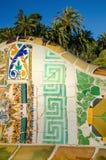 Antoni Gaudi-park royalty-vrije stock afbeelding
