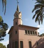 Antoni Gaudi's house Royalty Free Stock Photos