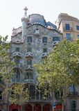 Antoni Gaudis famous Casa Batllo in Barcelona Stock Photo
