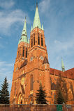 Antoni's Church in Rybnik Royalty Free Stock Images