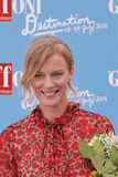ANTONIA LISKOVA AL FESTIVAL CINEMATOGRAFICO 2016 DI GIFFONI Immagini Stock Libere da Diritti