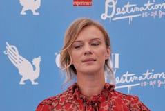ANTONIA LISKOVA AL FESTIVAL CINEMATOGRAFICO 2016 DI GIFFONI Immagine Stock