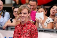 ANTONIA LISKOVA AL FESTIVAL CINEMATOGRAFICO 2016 DI GIFFONI Fotografia Stock