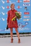 ANTONIA LISKOVA EN EL FESTIVAL DE CINE 2016 DE GIFFONI Imagen de archivo libre de regalías