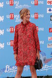 ANTONIA LISKOVA AT GIFFONI FILM FESTIVAL 2016. Giffoni Valle Piana, Sa, Italy - July 16, 2016 : Antonia Liskova  at Giffoni Film Festival 2016 - on July 16, 2016 Stock Images