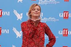 ANTONIA LISKOVA AT GIFFONI FILM FESTIVAL 2016. Giffoni Valle Piana, Sa, Italy - July 16, 2016 : Antonia Liskova  at Giffoni Film Festival 2016 - on July 16, 2016 Royalty Free Stock Images