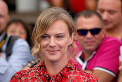 ANTONIA LISKOVA AT GIFFONI FILM FESTIVAL 2016. Giffoni Valle Piana, Sa, Italy - July 16, 2016 : Antonia Liskova  at Giffoni Film Festival 2016 - on July 16, 2016 Royalty Free Stock Photo