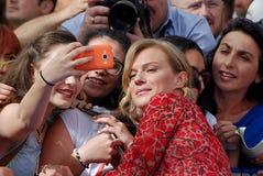 Antonia Liskova at giffoni film festival 2016. Giffoni Valle Piana, Sa, Italy - July 16, 2016 : Antonia Liskova  at Giffoni Film Festival 2016 - on July 16, 2016 Stock Photo